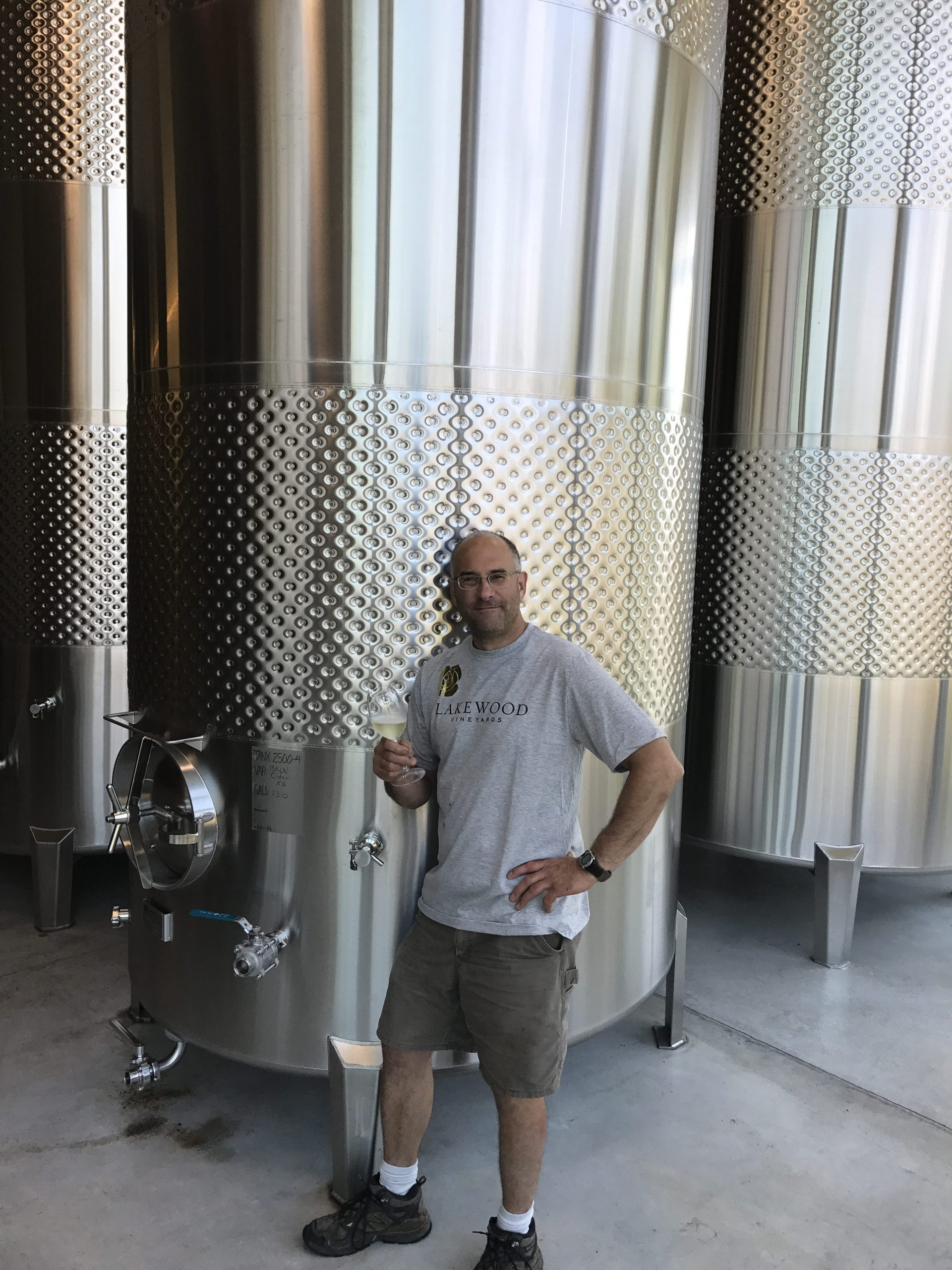 Meet Chris Stamp – Winemaker at Lakewood Vineyards