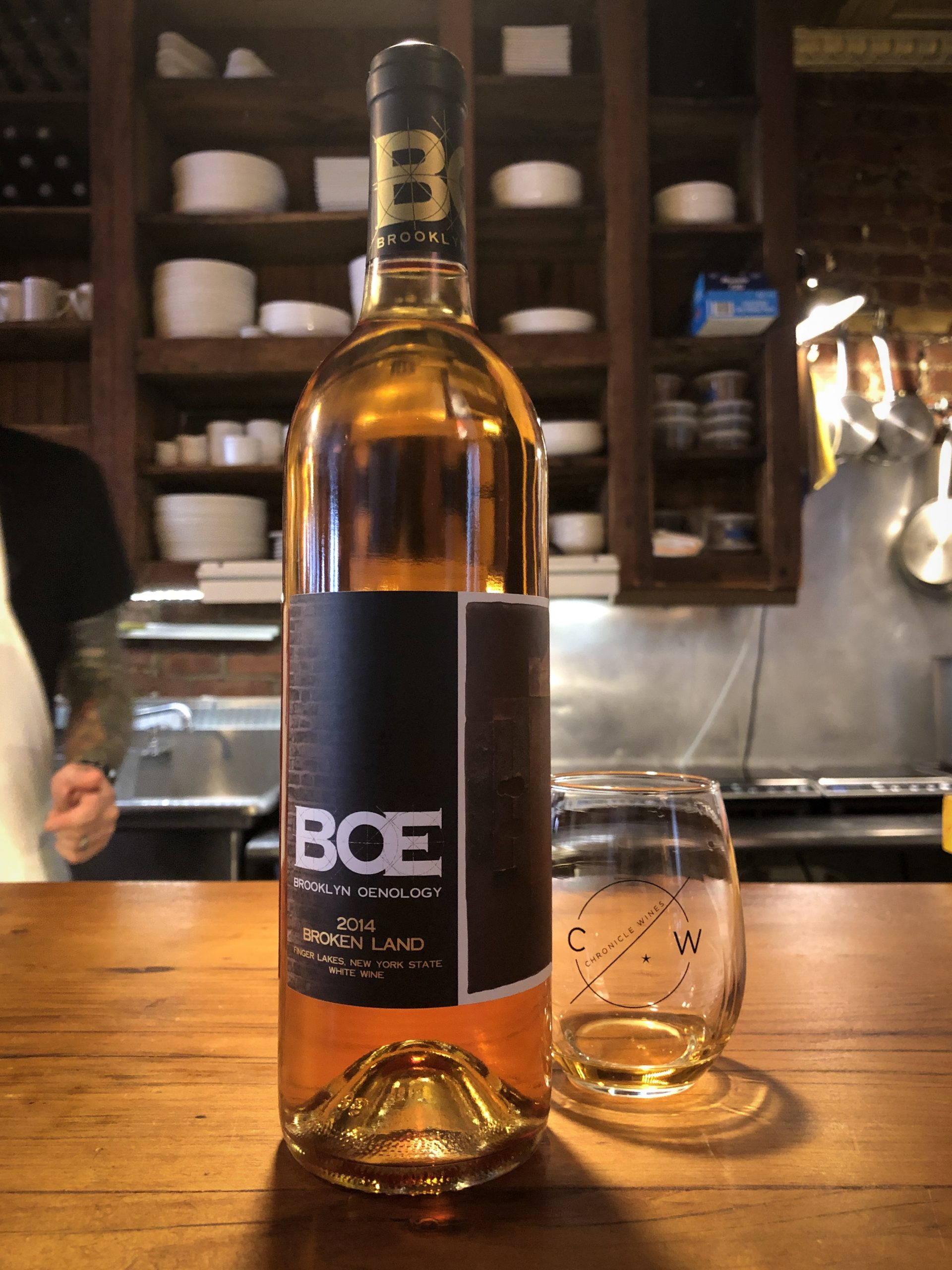 "Wine Of The Week – 2014 BOE ""Broken Land"" Orange Wine"